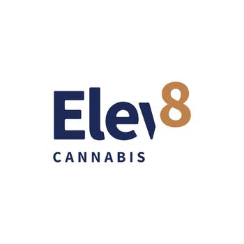 Elev8 Cannabis  logo