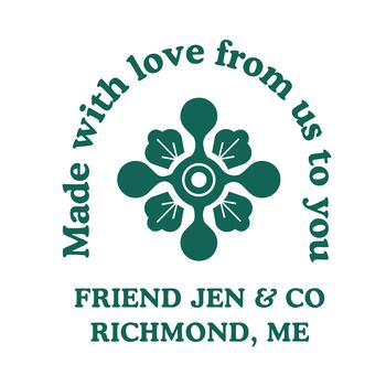 Friend Jen and Co.  logo
