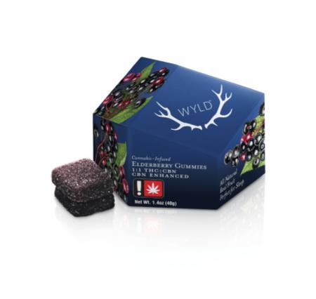 Elderberry THC/CBN Gummies